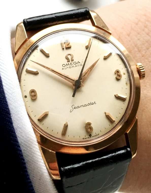 Omega Seamaster Automatik Automatic Solid 18 ct Pink Gold