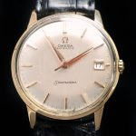 Omega Seamaster Automatik Automatic 18 ct Pink Gold Linen dial