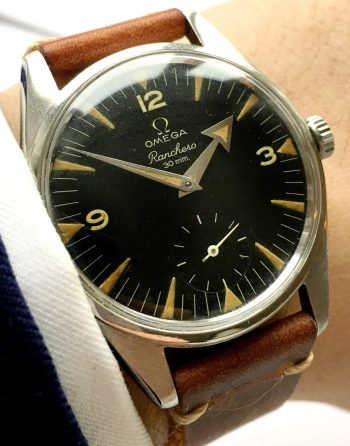 Factory Original Omega Ranchero 36mm with black dial Vintage