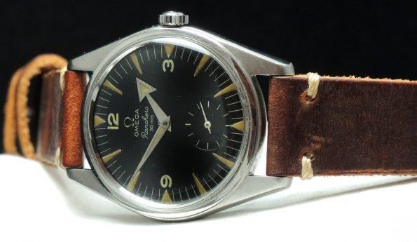 Factory Original Omega Ranchero 36mm with black dial Vintage
