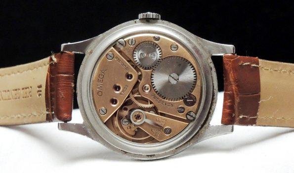 Omega Oversize 38mm Vintage Jumbo black dial