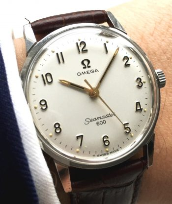 1967 Wonderful Omega Seamaster 600 Vintage