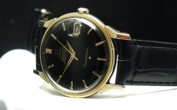 1967 Gold Plated Omega Constellation with black dial