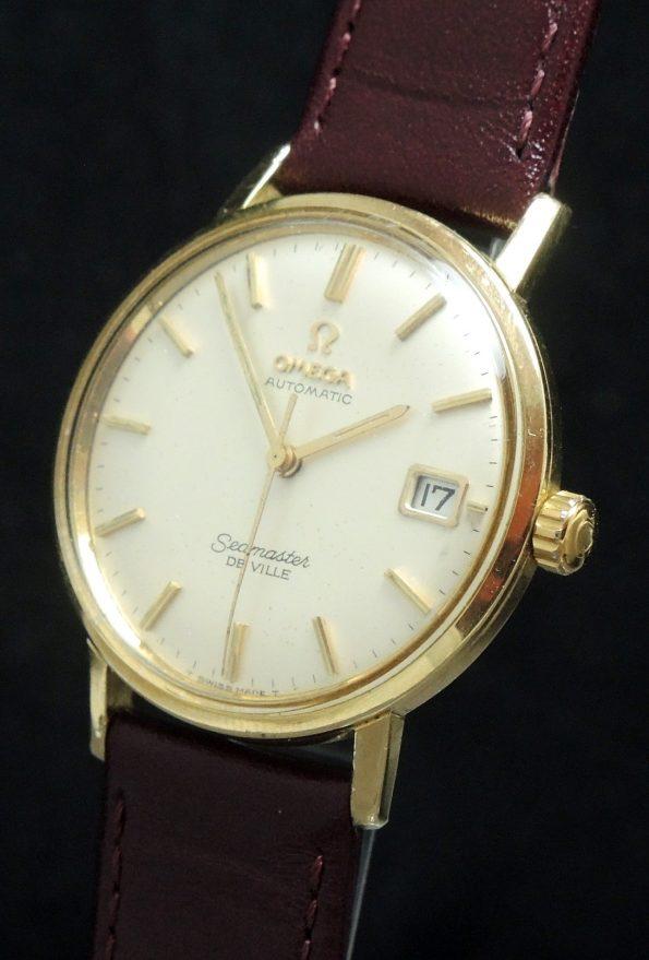 Wonderful Omega Seamaster De Ville Automatik Automatic 18 CaratSolid Gold