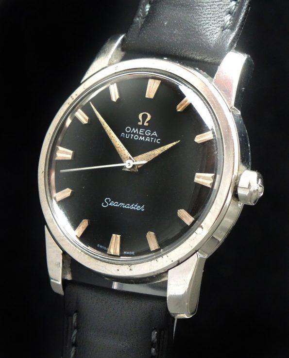 Omega Seamaster Automatik Automatic BIG SEAHORSE black dial