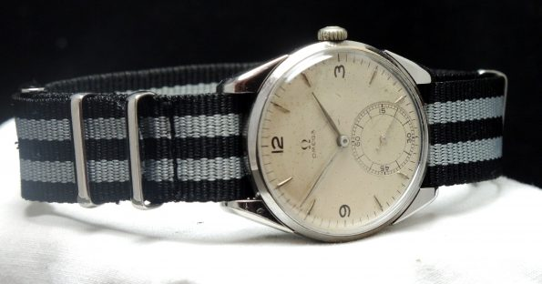Vintage Omega 30t2 with Explorer Dial 1945