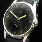 Omega Oversize 38mm 30t2 Jumbo black unrefurbished dial