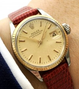 Rolex Damen Datejust Ladies Vintage Automatik
