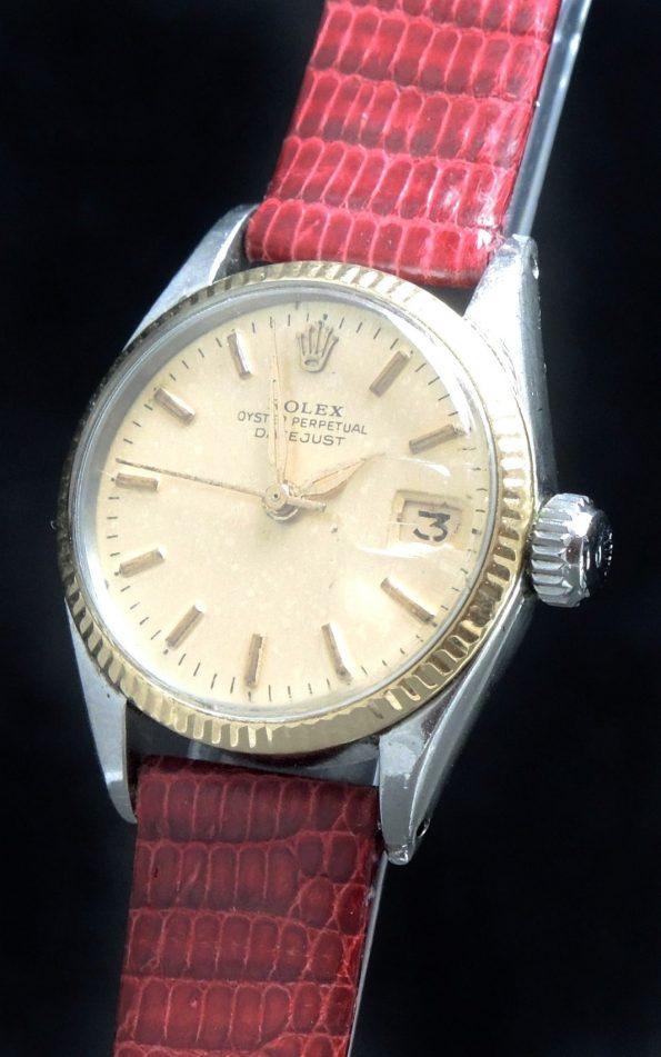 Servicierte Rolex Damen Datejust Ladies Vintage