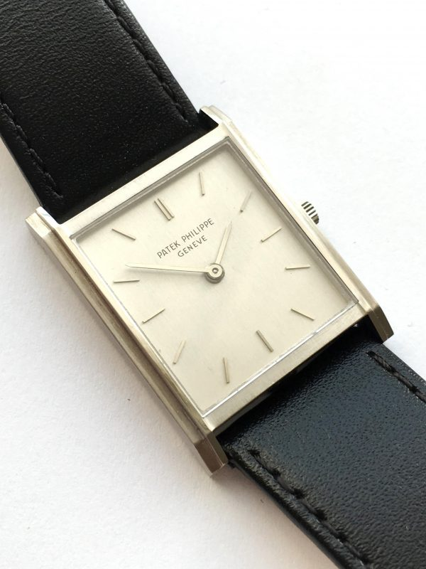 Perfect White Gold Patek Philippe Handwinding Watch 3519