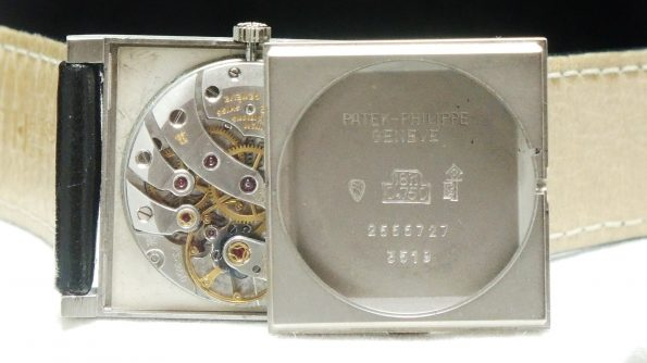 Perfect White Gold Patek Philippe Handwinding Watch 3519