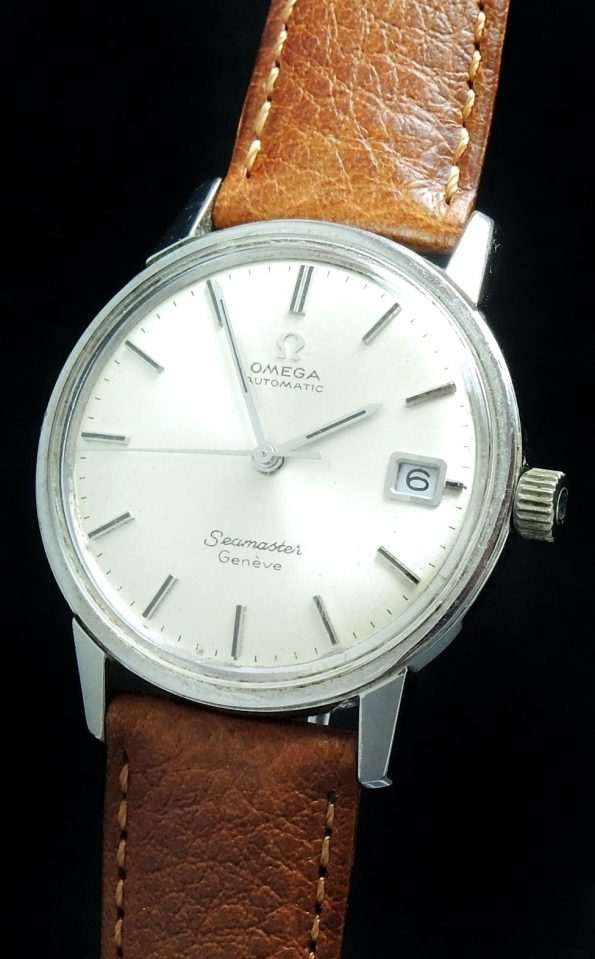 Serviced Omega Seamaster Geneve Automatik Automatic in Steel