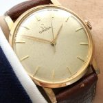 Vintage Omega pink gold plated Ladies watch Lady 33mm Unisex