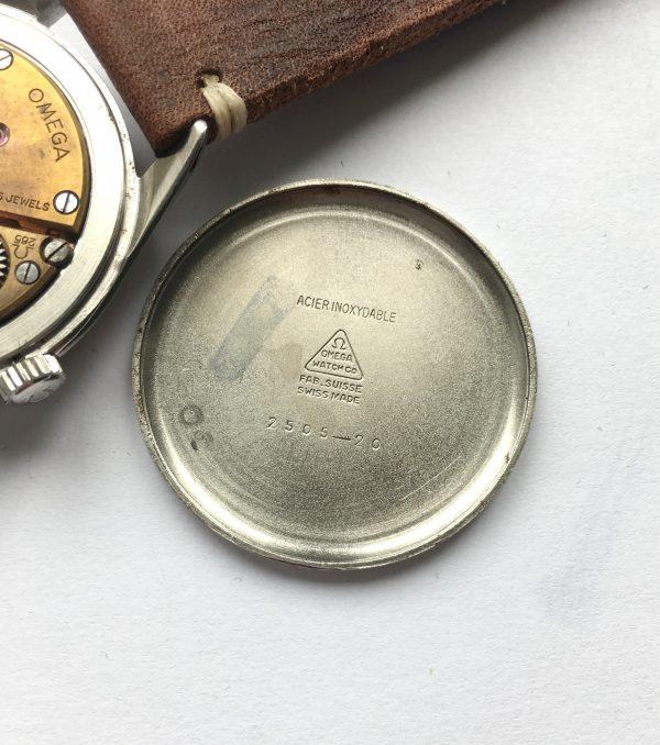 Great Omega 37mm Oversize Jumbo Vintage Black Dial