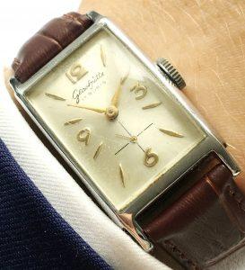 Square Glashütte Vintage Watch