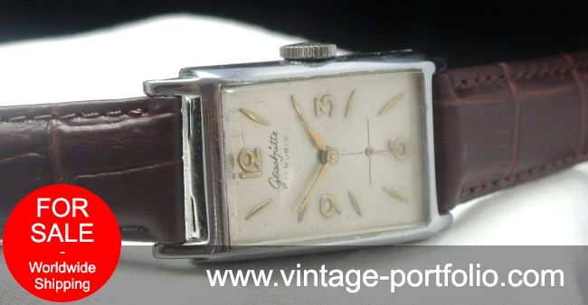 Square Glashütte Vintage Watch