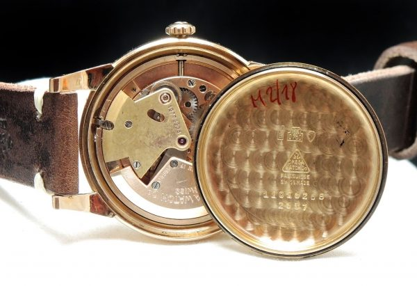 36mm Omega Automatic Solid Pink Gold black dial