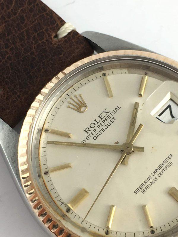 700 Euro Service Rolex Datejust Rosegold Steel Vintage