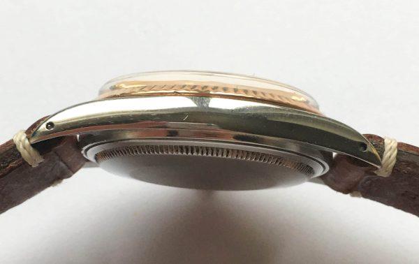 Rare Rolex Datejust Rosegold Steel Vintage Automatic
