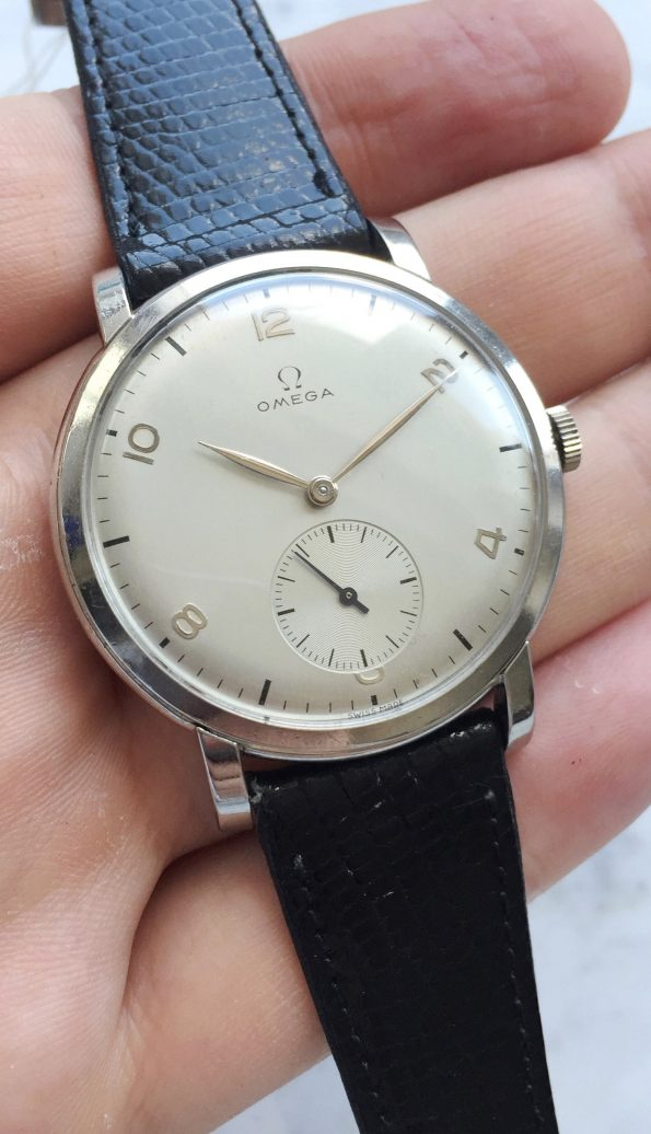 Superrare 39mm Omega Oversize Jumbo Great Condition