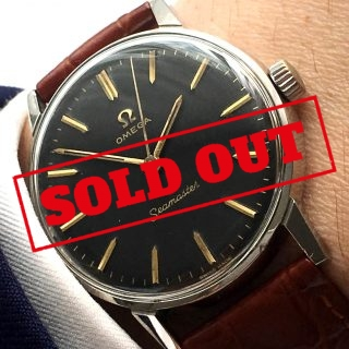 Serviced Omega Seamaster Black Dial
