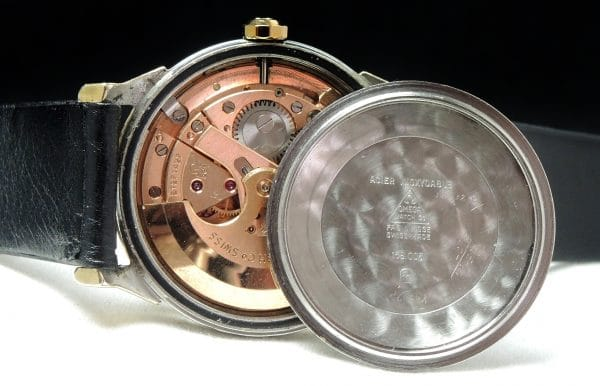 Full Set Omega Constellation Automatic Pie Pan