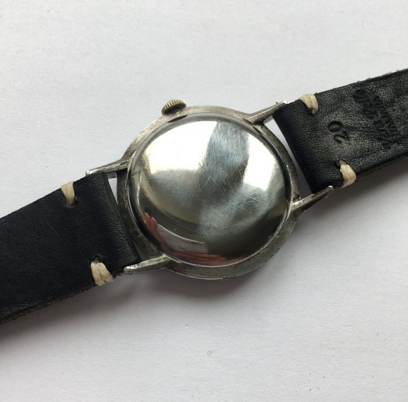 Early Omega 37mm Oversize Jumbo Vintage Black Dial 30t2