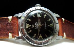 [:en]Zodiac Seawolf Automatic Diver Vintage[:de]Seltene Zodiac Seawolf Automatik Vintage[:]