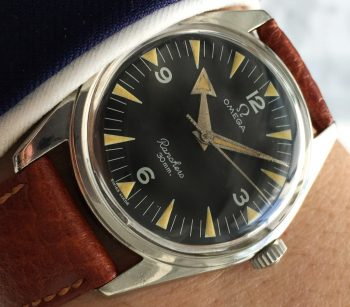 Vintage Omega Ranchero Originale Broad Arrow Zeiger ref 2996