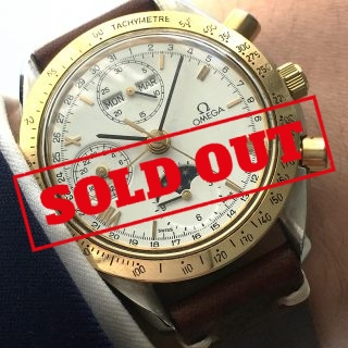 Original Omega Speedmaster Triple Date Moonphase