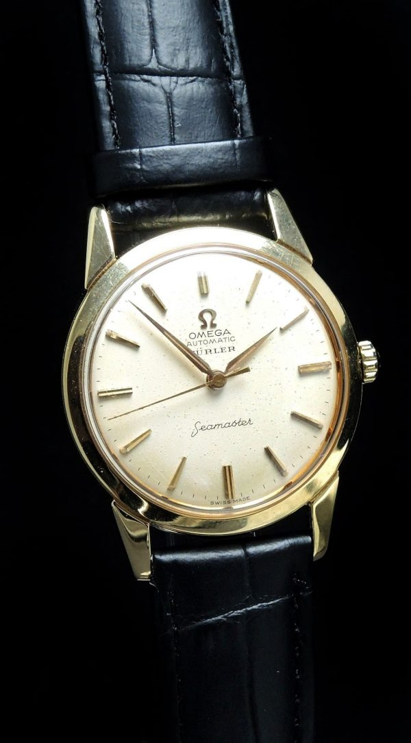 Serviced Omega Seamaster Automatic Solid Gold Türler