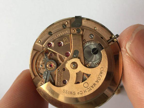 Full Set Omega Seamaster De Ville 18k Solid Yellow Gold