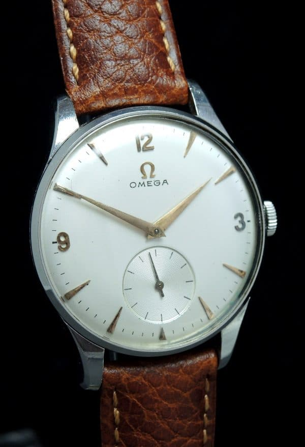 Serviced Omega Oversize Jumbo 37mm Explorer Dial