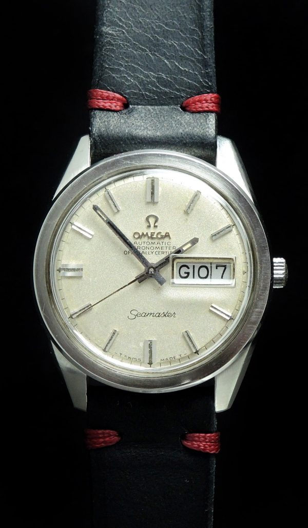Serviced Omega Seamaster Day Date 36mm Chronometer