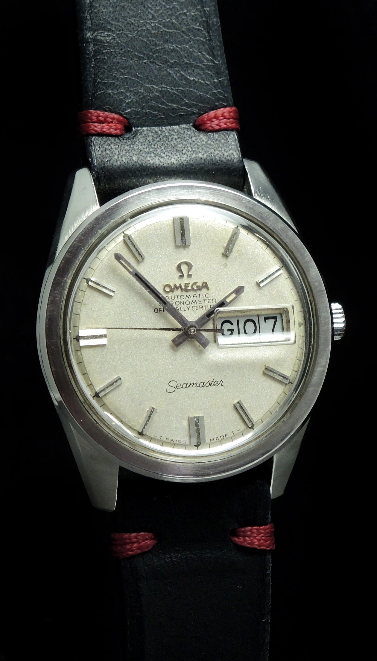 Serviced Omega Seamaster 36mm Day Date Chronometer