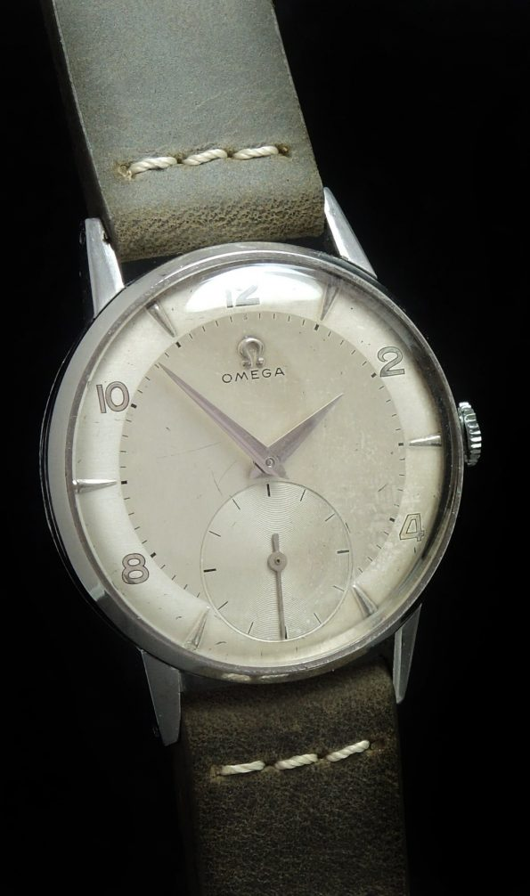 Unrefurbished Vintage Omega 30T2 Cream Dial 36mm