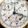 Perfect Zenith One Pusher Chronograph 1930 Solid Gold