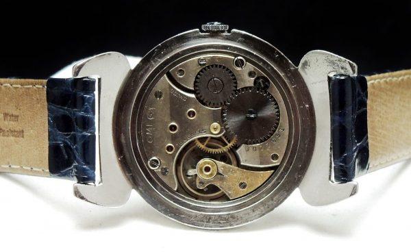 Oversize Jumbo Omega Scarab Vintage Watch Enamel Dial