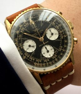 Interesting Breitling Navitimer Vintage 806 GILT DIAL