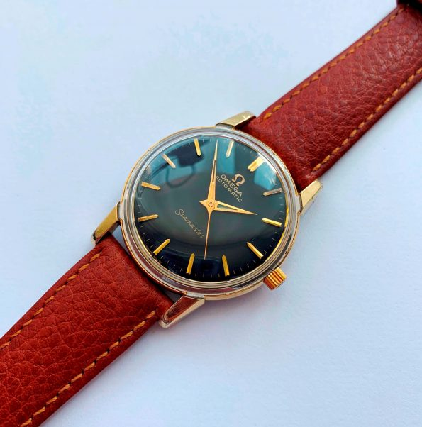 Gold Plated Vintage Omega Seamaster Automatic
