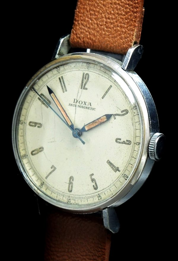 Amazing Vintage Military Doxa Scientifc Dial 36mm
