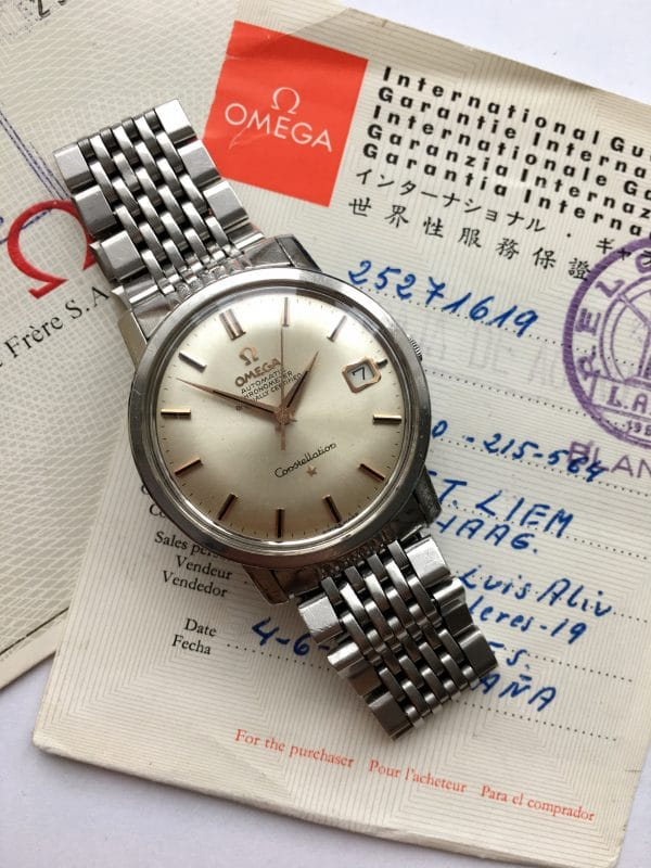 Full Set Omega Constellation Automatic Steel