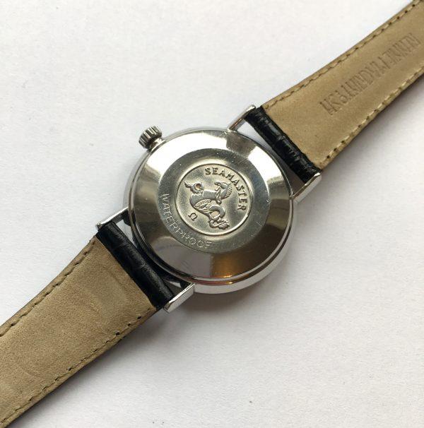Vintage Omega Seamaster De Ville Automatic Steel black dial