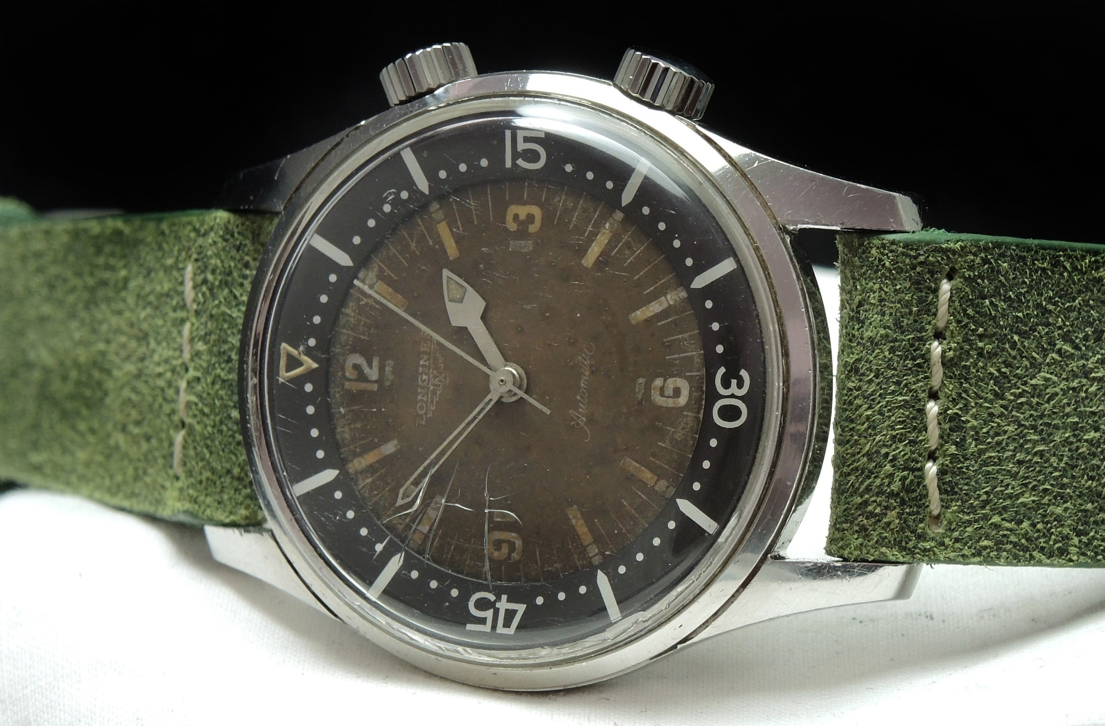Longines Legend Diver Vintage Tropical Chocolate Automatic