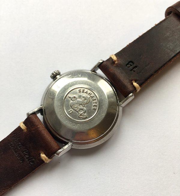 Great Omega Seamaster De Ville Automatic Steel black dial