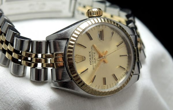 Full Set Rolex Lady Datejust Steel Gold Automatic