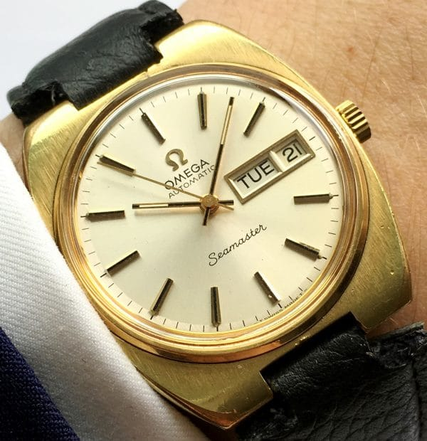 Beginner Omega Seamaster Automatic Date