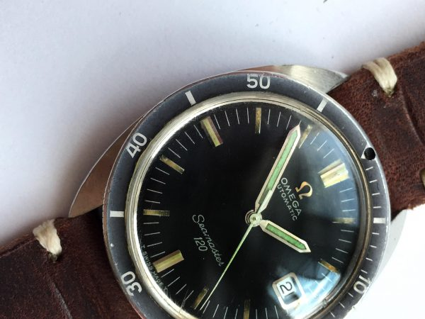 Great Omega Seamaster 120 Vintage Diver Automatic