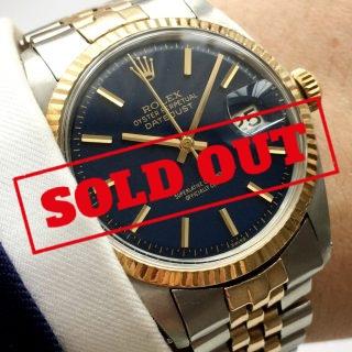 Wonderful Rolex Datejust Automatic blue dial