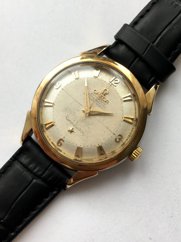Omega Constellation Automatik Pie Pan Honeycomb Dial